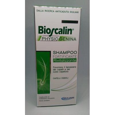 BIOSCALIN PHYSIOGENINA SHAMPOO FORTIFICANTE RIVITALIZZANTE 200 ML