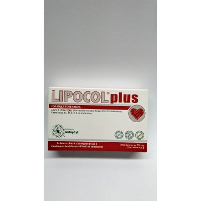 LIPOCOL PLUS 30CPR