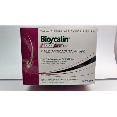 BIOSCALIN TRICOAGE 45+ FIALE ANTICADUTA ANTIETA' 10 FIALE X3,5 ML