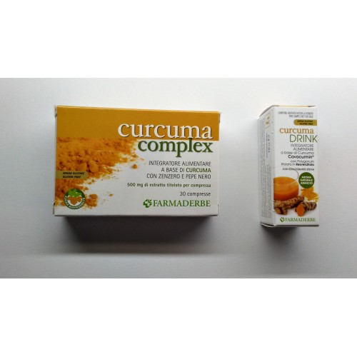 CURCUMA 30CPR FDR con CURCUMA DRINK 10 ml in omaggio