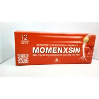 MOMENXSIN*12 cpr riv 200 mg + 30 mg