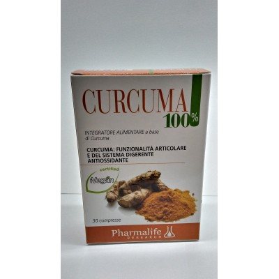 CURCUMA 100% 30CPR PHARMALIFE