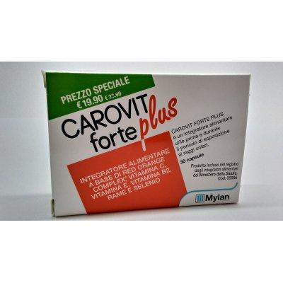 CAROVIT FORTE PLUS 30CPR NF