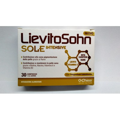 LIEVITOSOHN SOLE INTENSIVE 30 COMPRESSE