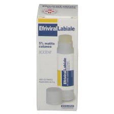 EFRIVIRALLABIALE*MAT CUT 3G 5%