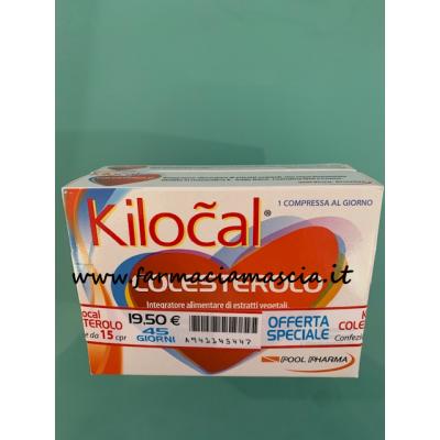 KILOCAL COLESTEROLO 30CPR + 15 compresse in omaggio