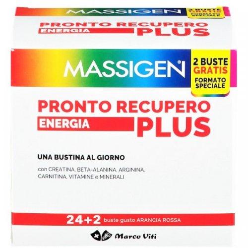 MASSIGEN PRONTO RECUPERO ENERGIA PLUS 24 BUSTINE + 2 BUSTINE