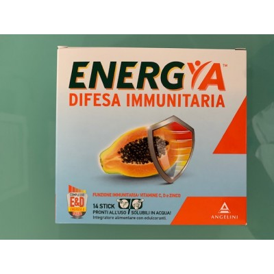 ENERGYA DIFESA IMMMUNIT 14STICK nuova confezione 2020