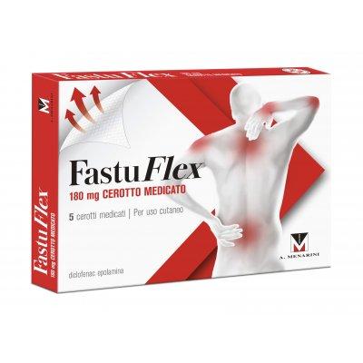 FASTUFLEX*5 cerotti medicati 180 mg