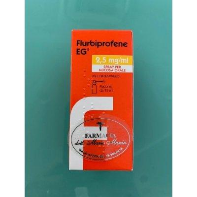 FLURBIPROFENE (EPIFARMA)*spray mucosa orale 15 ml 0,25%