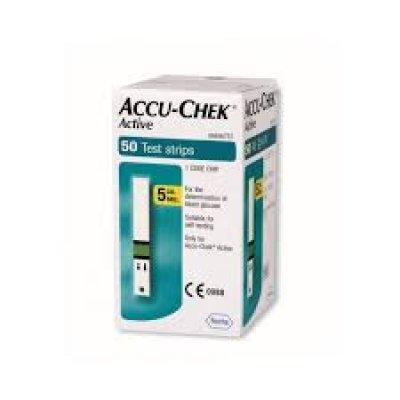 accu-chek active 50 st