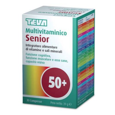 MULTIVITAMINICO SENIOR 30CPR TEV