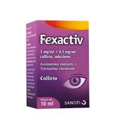 FEXACTIV*collirio 10 ml 0,3 mg/ml + 0,5 mg/ml
