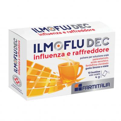 ILMOFLUDEC INFLUENZA E RAFFREDDORE*orale polv 10 bust limone e miele