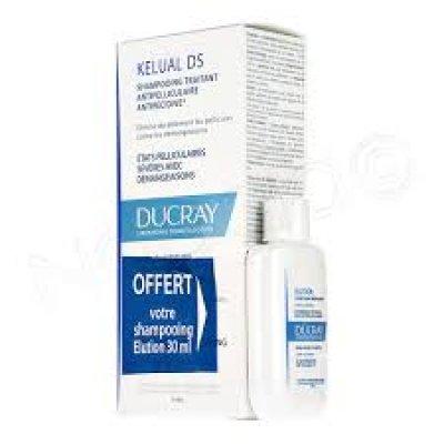 KELUAL DS SHAMPOO 100ML DUCRAY + CAMPIONE OMAGGIO shampo di mantenimento