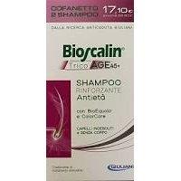 BIOSCALIN TRICOAGE SHAMPOO 200 + 200 ML