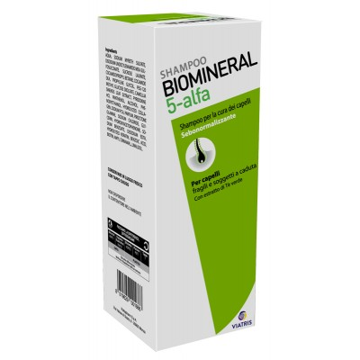 BIOMINERAL 5 ALFA SHAMPOO200ML