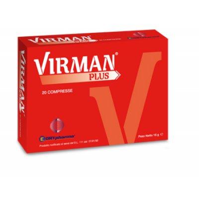 VIRMAN PLUS INT DIET 20CPR