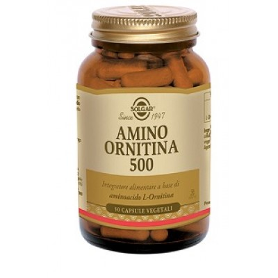 AMINO ORNITINA 500 50CPS SOLGAR