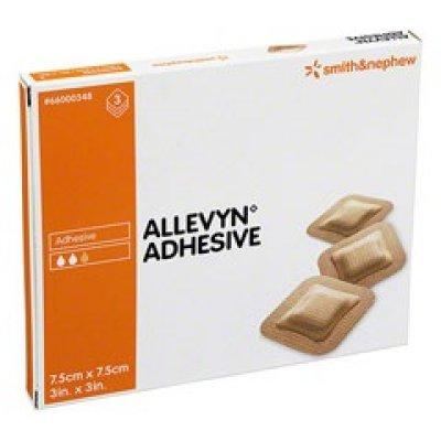 ALLEVYN ADHES  7,5X7,5CM 3PZ 348