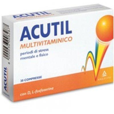 ACUTIL-INTEG MULTIV 30CPR