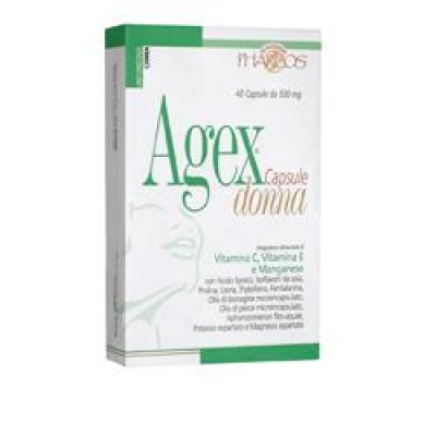 AGEX DONNA PHARCOS*40CPS 500MG