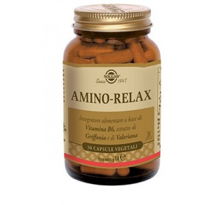 AMINO RELAX 30VEGICPS SOLGAR