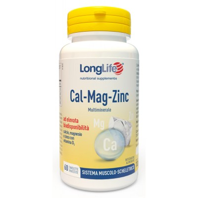 CALCIUM/MAG/ZINC 60TAV LONG LIFE