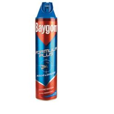 BAYGON PLUS MOSC+ZANZ SPRY 400ML