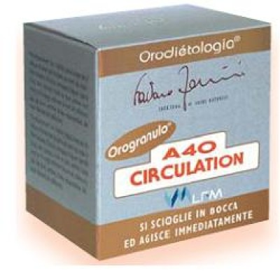 A40 CIRCULATION OROGRANULI 16G