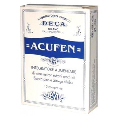 ACUFEN INTEG 15 CPR 600MG