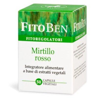 MIRTILLO ROSSO 50CPS FITOBEN