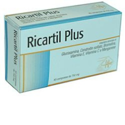 RICARTIL PLUS 40CPR 750MG