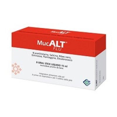 MUCALT FLU 8 ORAL STICK MONOD