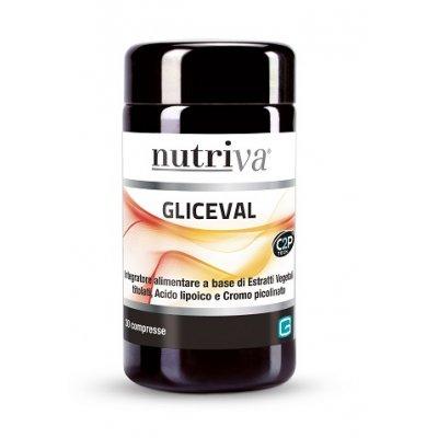 NUTRIVA GLICEVAL 30CPR