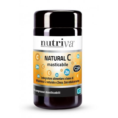 NUTRIVA NATURAL C MASTIC 60CPR