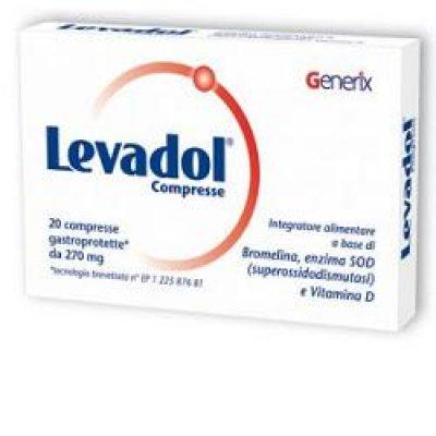 LEVADOL 20CPR 270MG