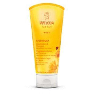 BABY CALENDULA BABYWASH 200ML WE