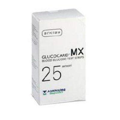 GLUCOCARD-MX BLOOD GLUCOSE 25PZ