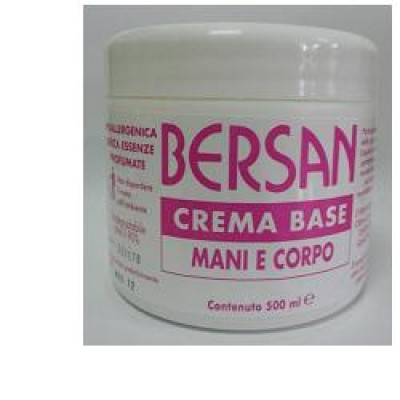 BERSAN CREMA BASE CORPO MANI 500 ML