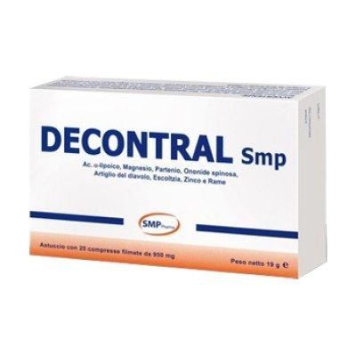 DECONTRAL INTEG 20CPR 850MG