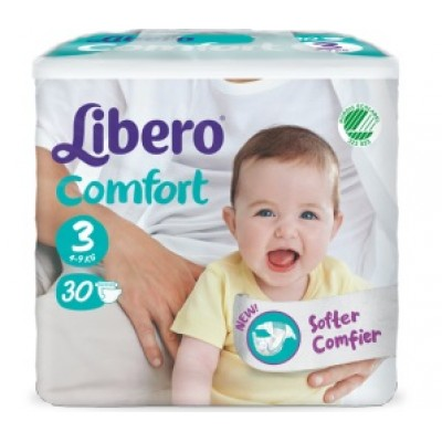LIBERO COMFORT PANN 3 30PZ 6318