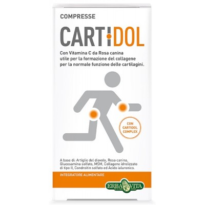 CARTIDOL COMPRESSE 45CPR EBV