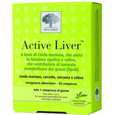 ACTIVE LIVER 30CPR NEW NORDIC