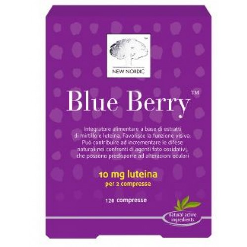 BLUE BERRY 120CPR NEW NORDIC