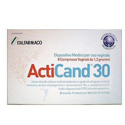 ACTICAND 30 8CRP VAGINALI