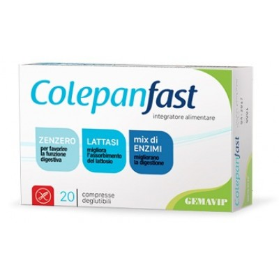 COLEPANFAST 20CPR 400MG