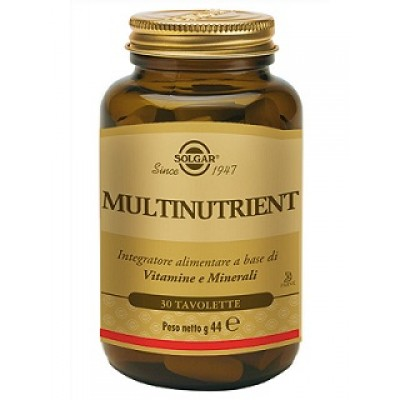 MULTINUTRIENT 30TAV SOLGAR