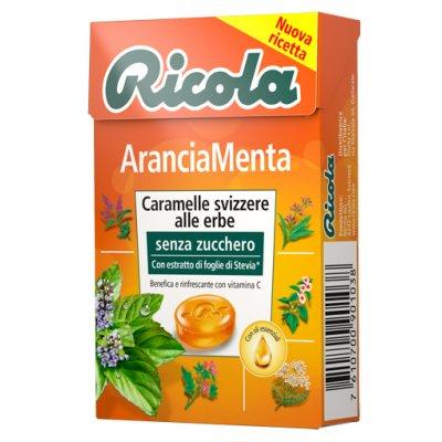 RICOLA ARANCIA MENTA S/ZUCC50G