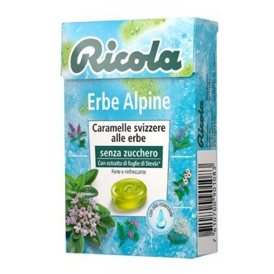 RICOLA ERBE ALPINE S/ZUCCH 50G